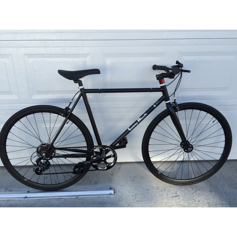 Sunny Black 6 Speed Road Bike Pedalmotioncycles Ltd